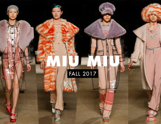 Miu Miu Fall 2017 Paris Fashion Week