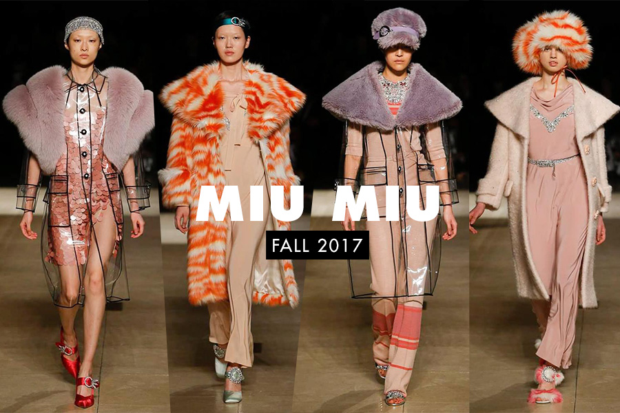 Miu Miu Fall 2017 Paris Fashion Week