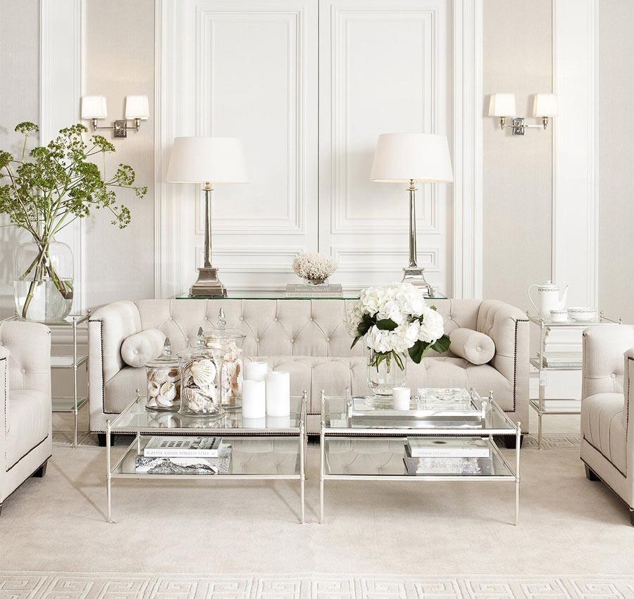 Wohnzimmer Idee Symmetrisch