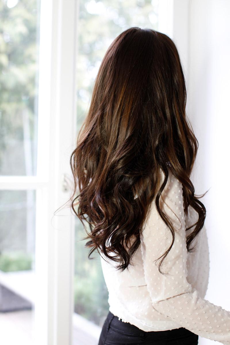 haarroutine-langes-haar