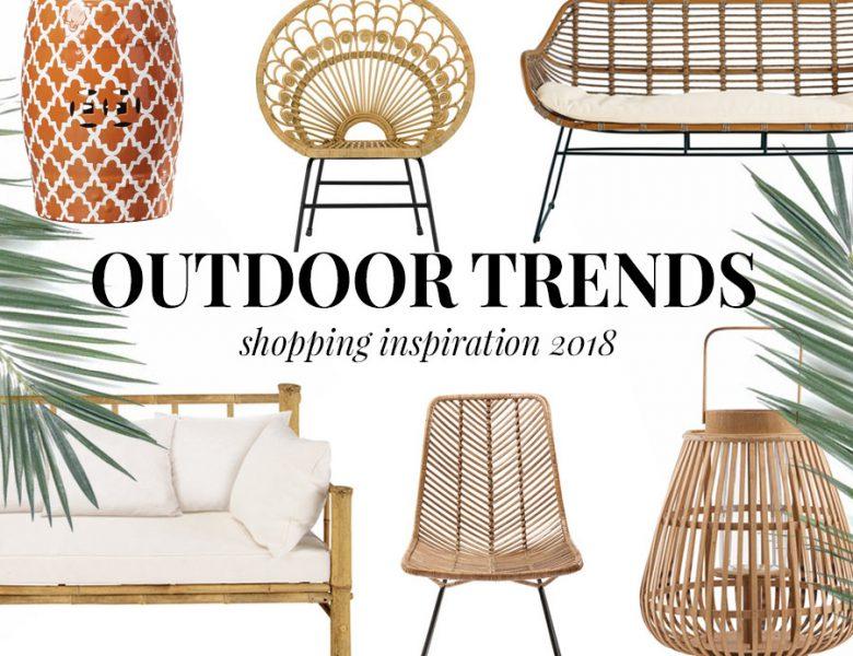 Gartenmöbel Trend Rattan 2018