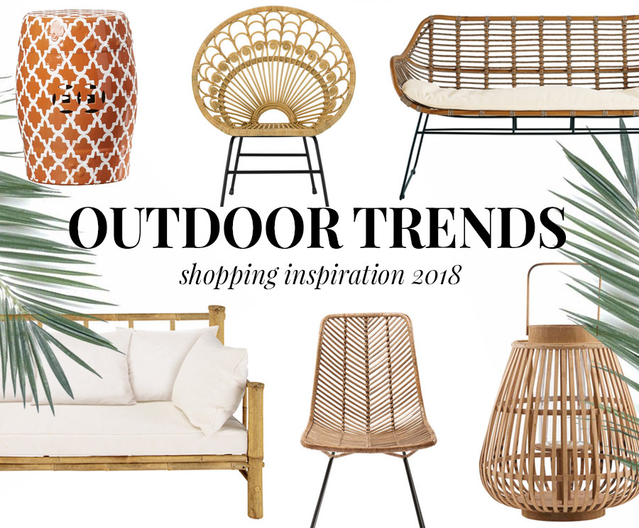die besten outdoor trends 2018 shopping inspiration. Black Bedroom Furniture Sets. Home Design Ideas