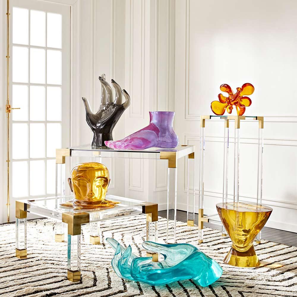 Jonathan-Adler Acryl Skulptur Interior