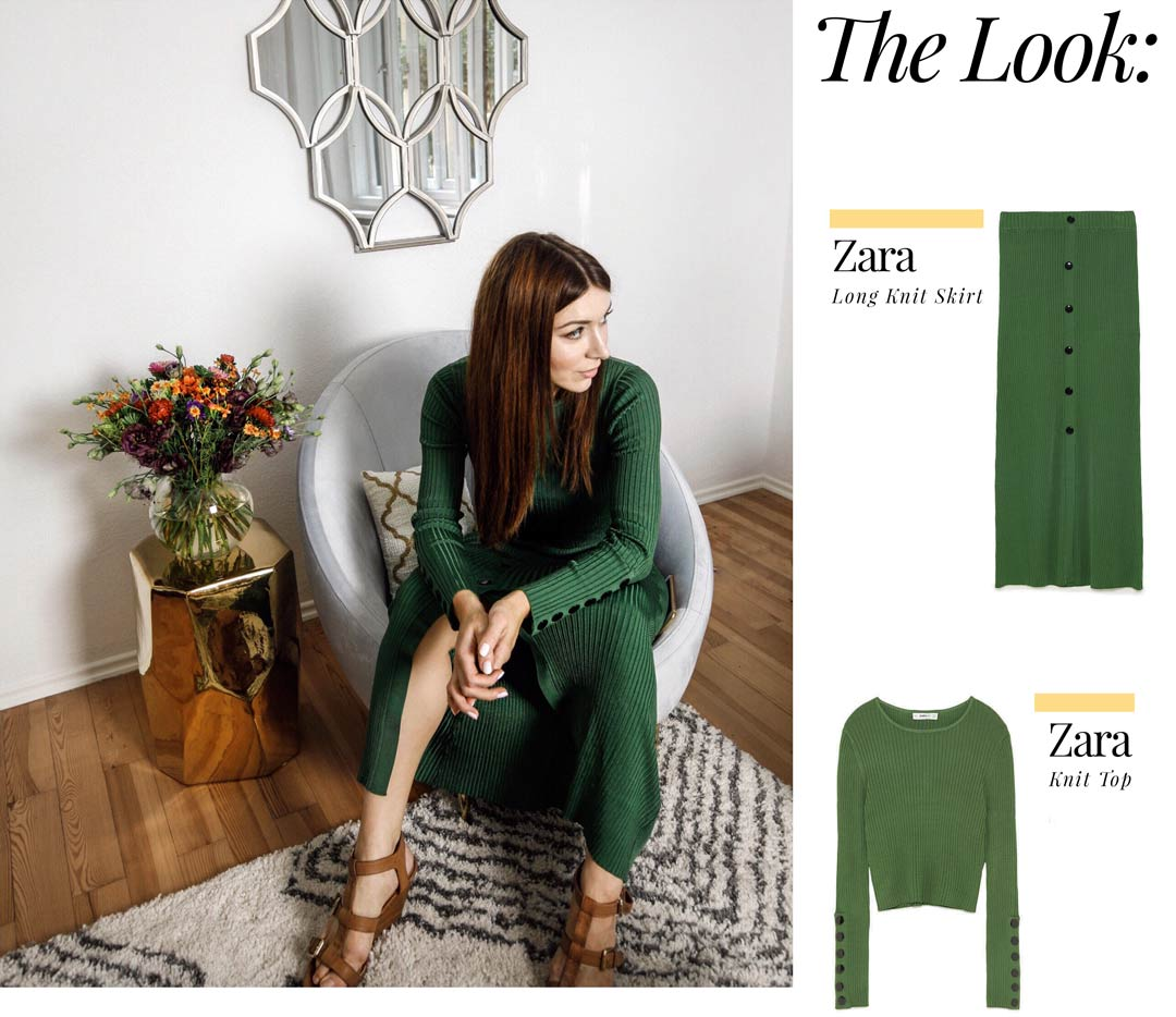 zara gucci outfit post