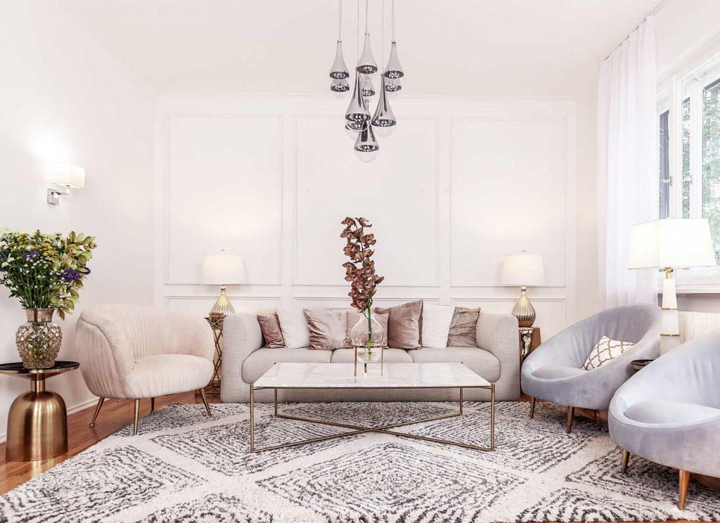 20ies glam livinroom 20er Jahre Glamour Interior