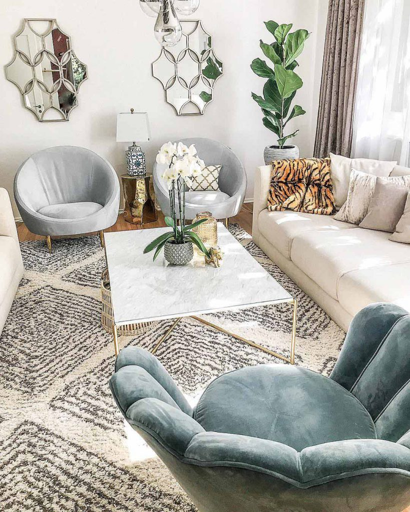 animal decor interior trend jonathan adler living room
