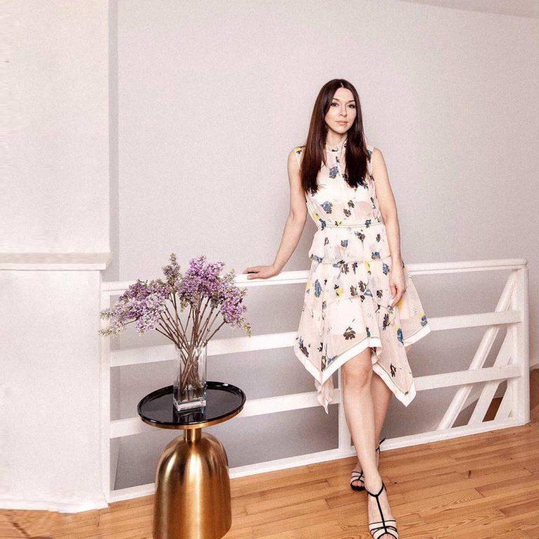 First floral dress