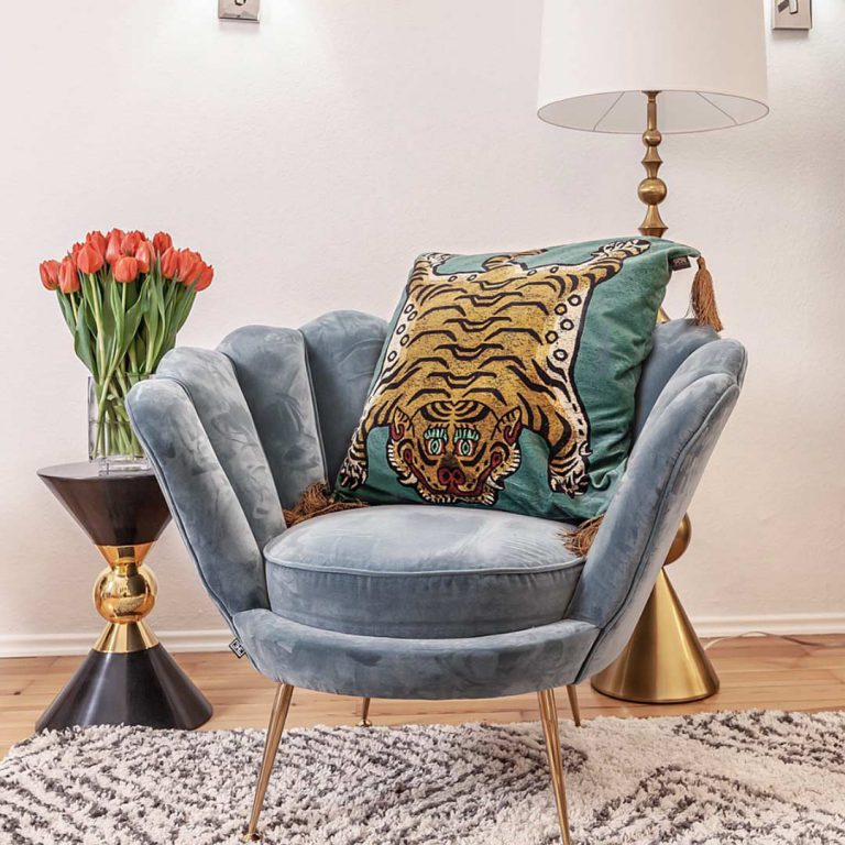 New Love: Tiger Cushions