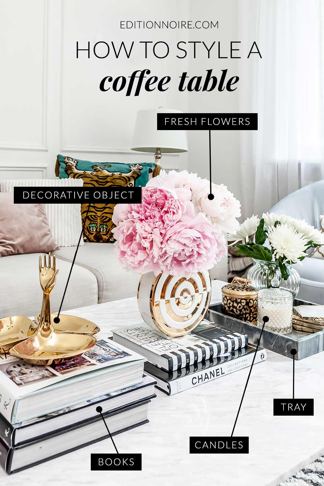 How to style a coffeetable modern ways