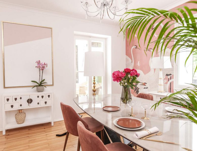 Home Update: my Summer Ready Dining Room Decor