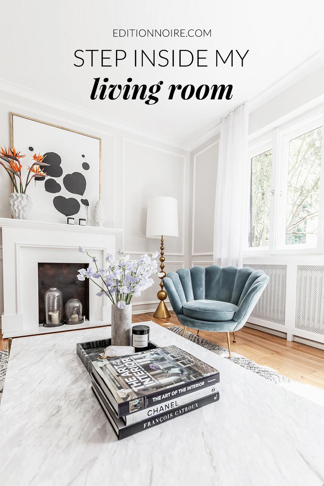 Living room styling interior by Katarina Fischer