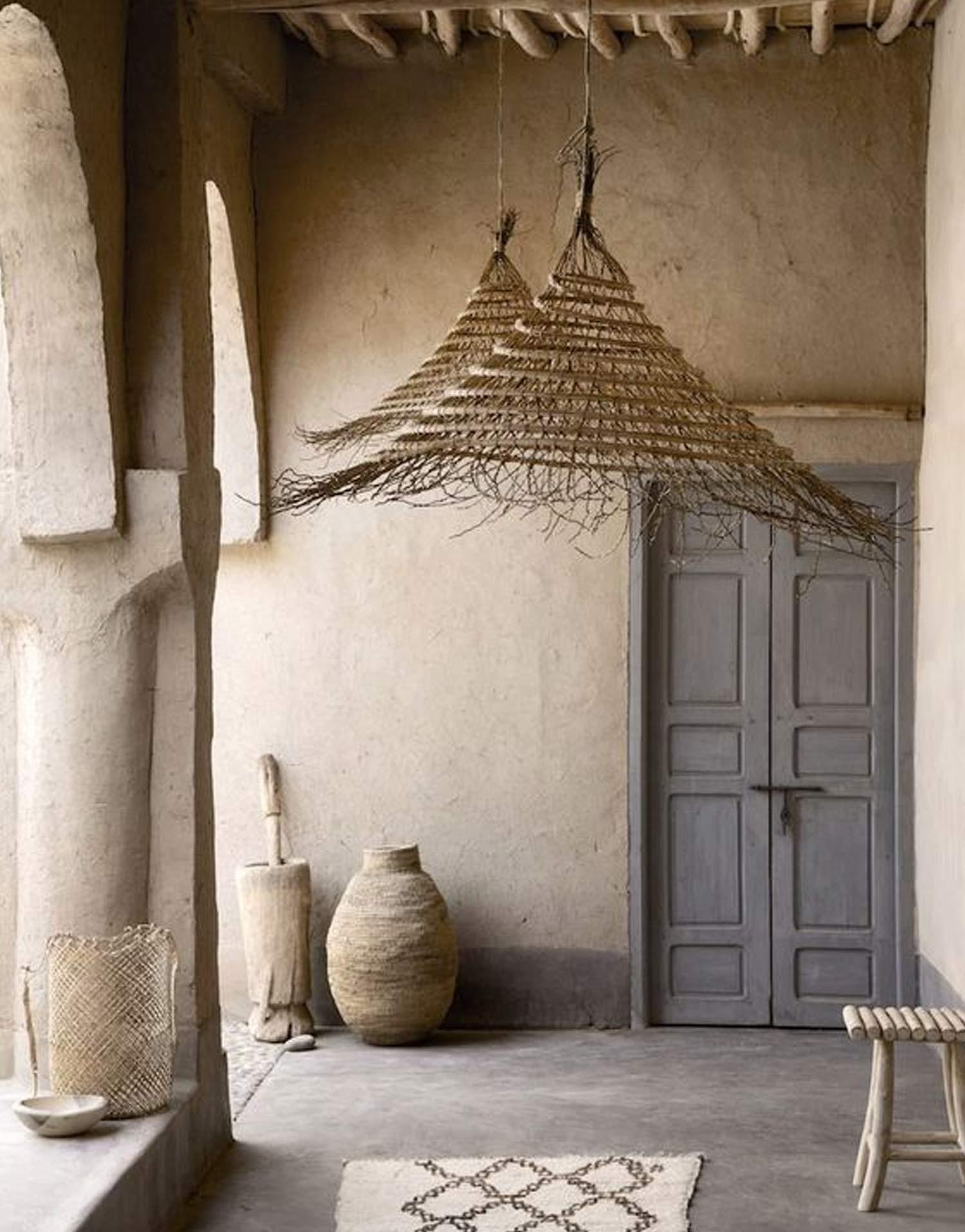 rustic mediterranean interior style