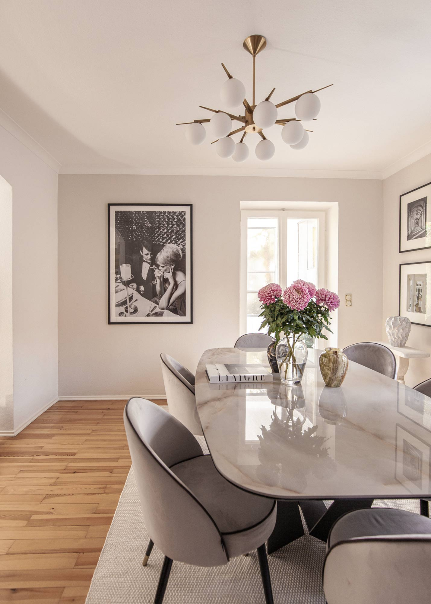 offwhite paint farrowball dining room by Katarina Fischer